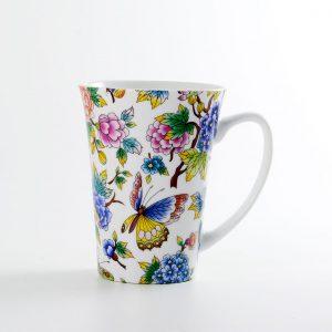 mug porcelana jardin oriental