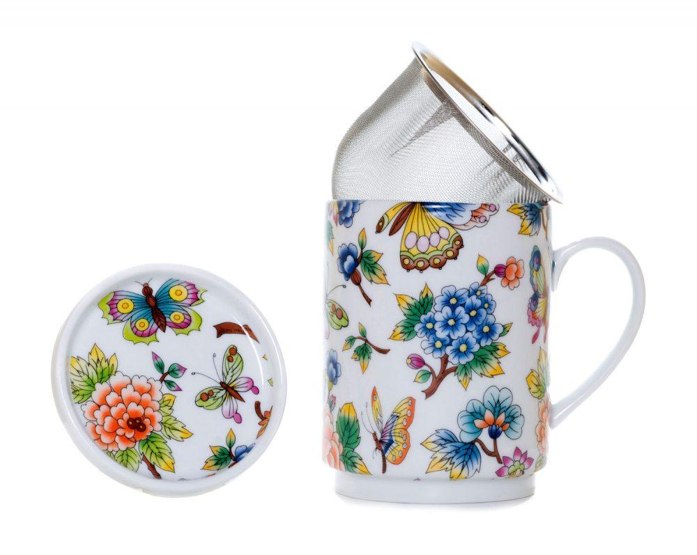 tisana porcelana jardin oriental