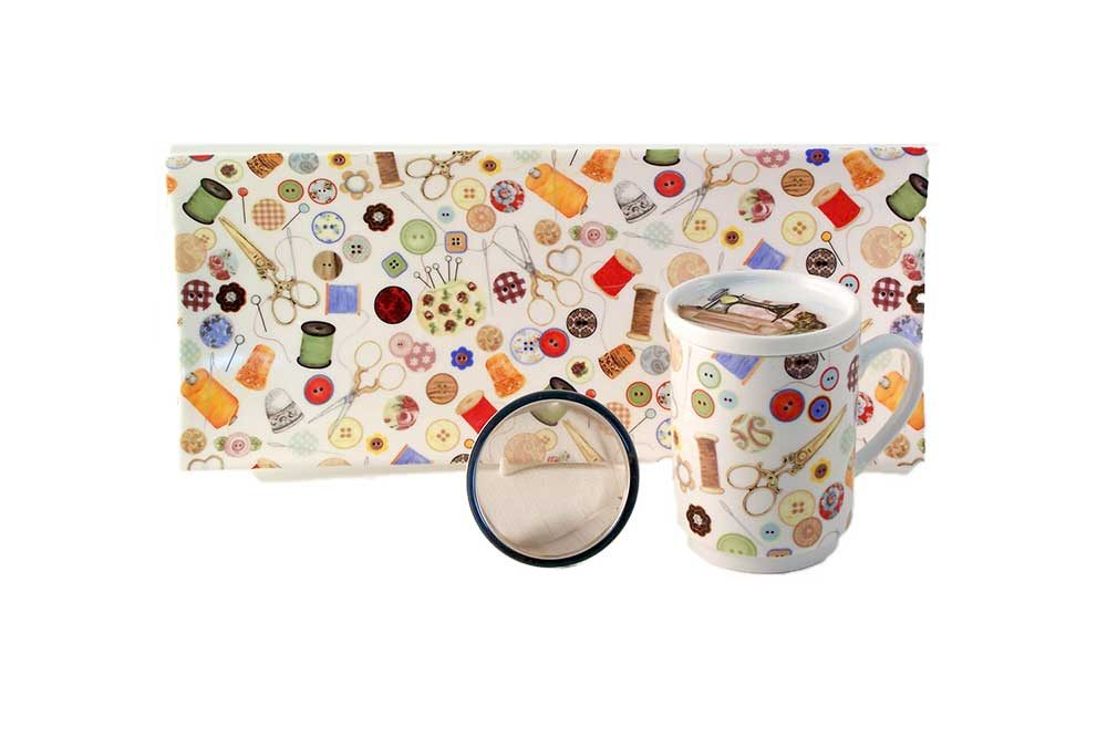 juego te porcelana detalle costura