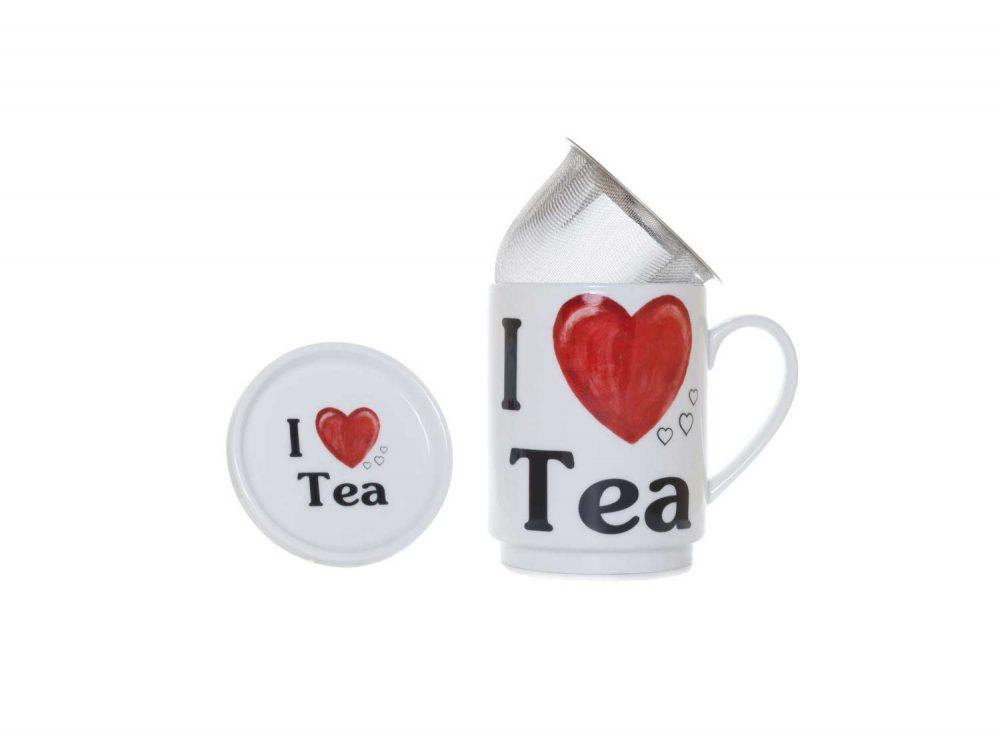 taza te porcelana love tea