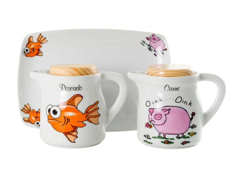 graseras-porcelana-pez-cerdo