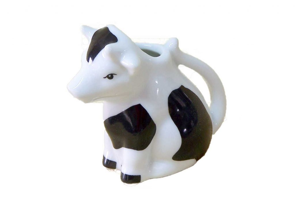 lechera porcelana mini vaca