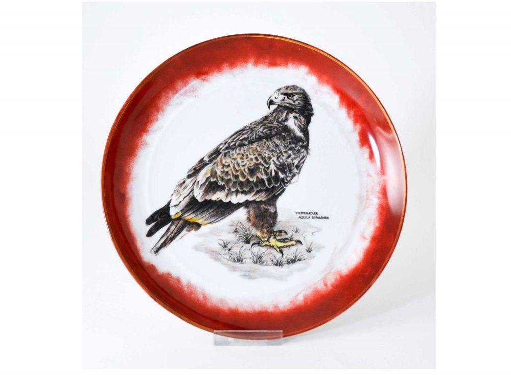 plato-decorativo-porcelana-aguila-esteparia