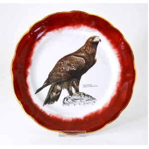 plato-decorativo-porcelana-aguila-real