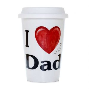 vaso americano porcelana love dad