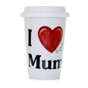 vaso americano porcelana love mum