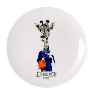 plato decorativo ms girafe