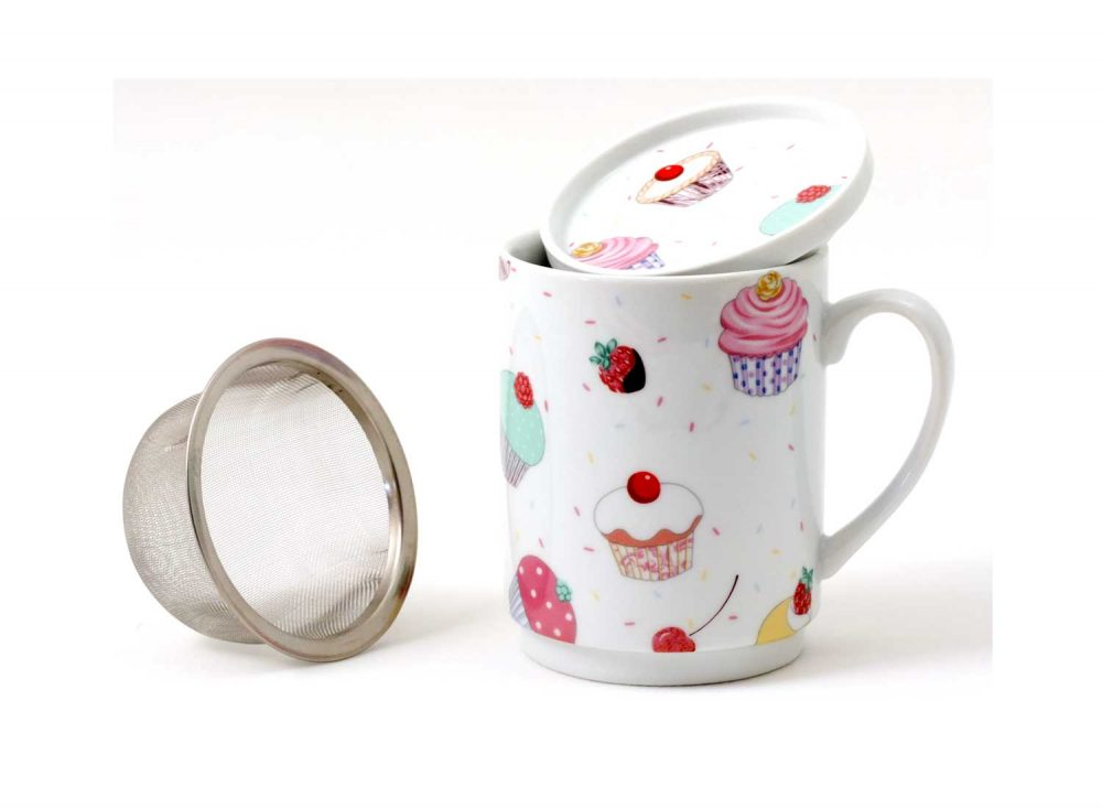 taza te porcelana magdalenas