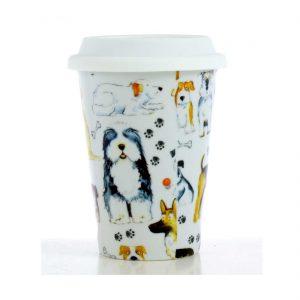 vaso-americano-porcelana-perros