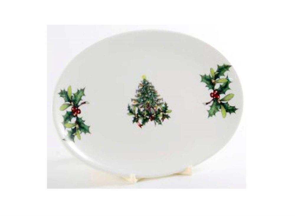 fuente-porcelana-20cm-navidad-abeto