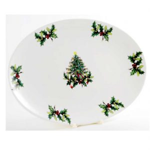 fuente-porcelana-30cm-navidad-abeto