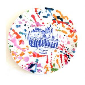 plato-porcelana-alcazar-segovia-splash