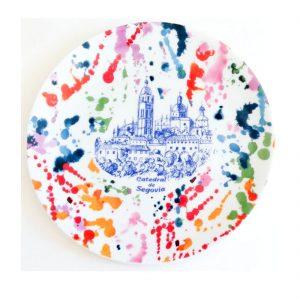 plato-porcelana-catedral-segovia-splash